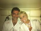 Xuxa vai com o novo namorado à Sapucaí: 'Vermelho paixão'