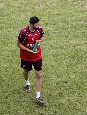 Gérson Magrao meia do CRB (Foto: Caio Lorena / GloboEsporte.com)