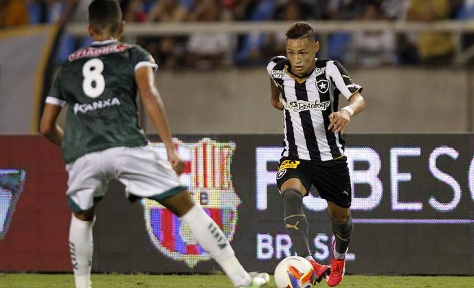Neilton Botafogo x Luverdense Engenhão (Foto: Vitor Silva/SSPress)