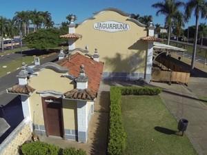 Estação tem importância histórica para a cidade  (Foto: Reprodução EPTV)
