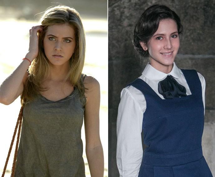 Hanna revela que precisou ficar morena para a personagem (Foto: Inácio Moraes/Gshow)