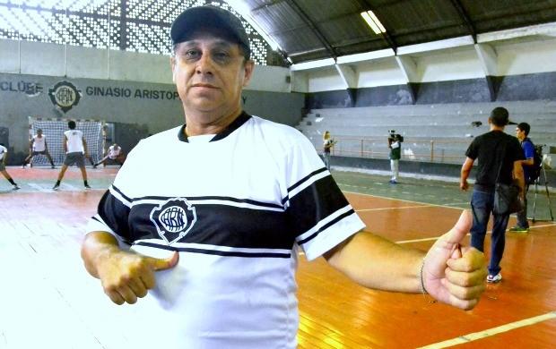 Carlos Prata técnico Rio Negro (Foto: Divulgação)