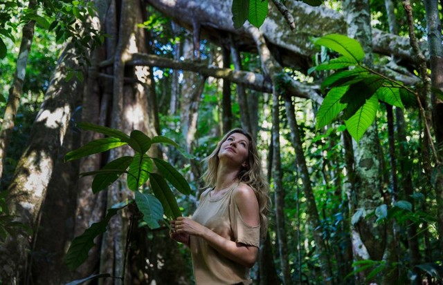 Gisele Bündchen (Foto: National Geographic)