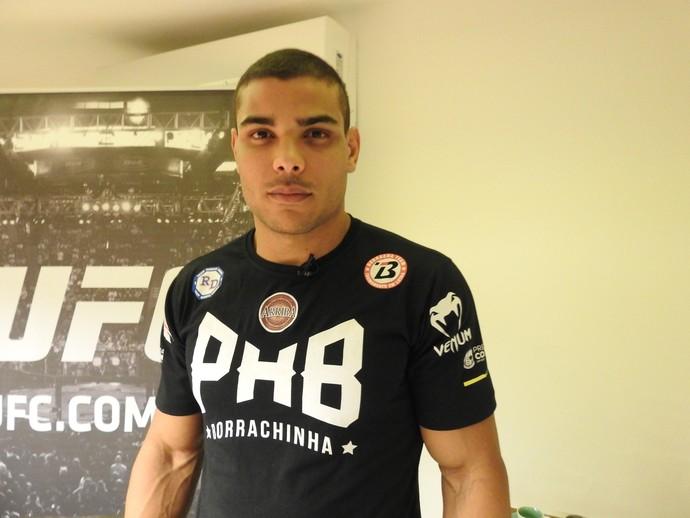 Paulo Borrachinha UFC (Foto: Jamille Bullé)
