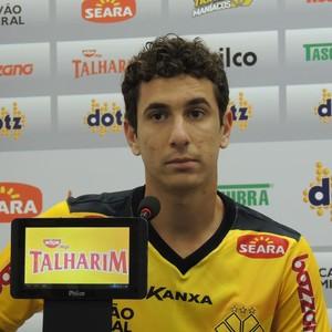 Higor Criciúma (Foto: João Lucas Cardoso)
