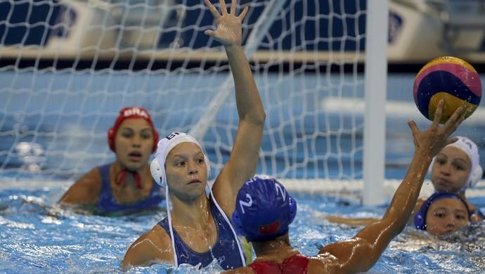 Izabella Chiappini foi a melhor jogadora do Brasil (Foto: Reuters)