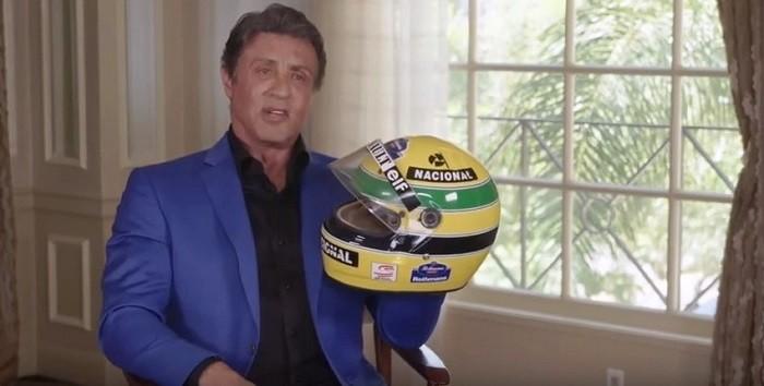 BLOG: Stallone e o capacete de Senna