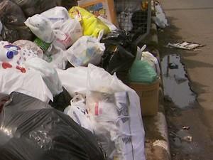 Coleta de lixo terá esquema especial para o feriado de Ano Novo em Campinas (Foto: Reprodução/ EPTV)