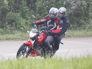 Dafra; Riva; 150; motocicleta; lançamento; urbana (Foto: Zhou Pengcheng/ Divulgação)