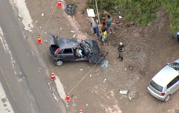 acidente jogador do náutico (Foto: Reprodução / TV Globo)