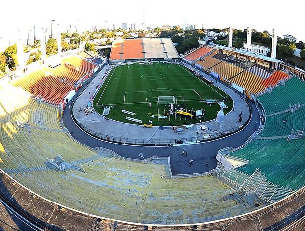 estádio Pacaembu jogo Corinthians final Libertadores (Foto: Marcos Ribolli / Globoesporte.com)