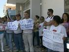 Servidores fazem greve por falta de pagamento em Cachoeira Paulista