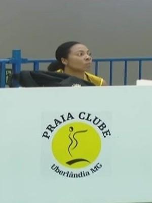Daymi Ramirez Oposta Praia Clube Vôlei (Foto: Reprodução/TV Integração)