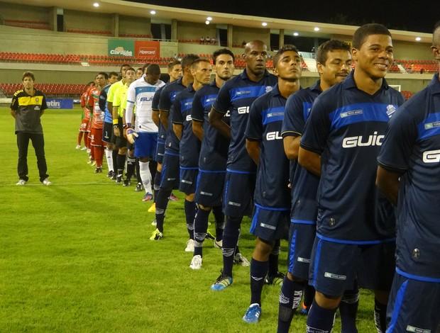 CEO venceu o CSA por 3 a 1 no Rei Pelé (Foto: Caio Lorena / Globoesporte.com)