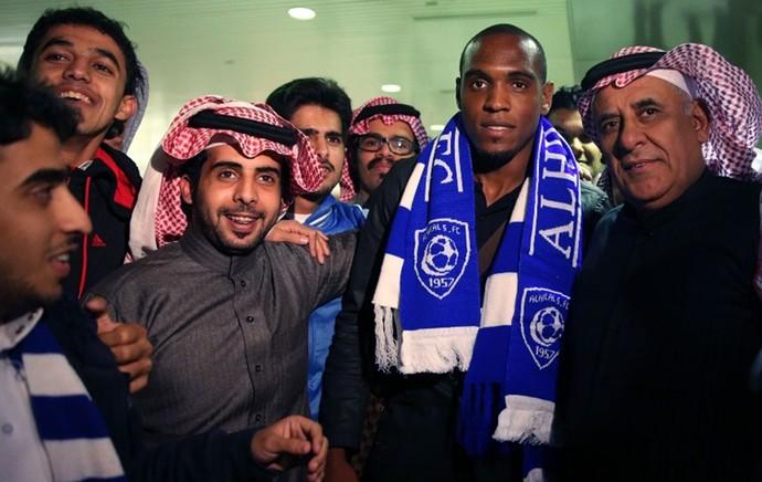 Digão zagueiro chegada ao Al Hilal (Foto: Divulgação)