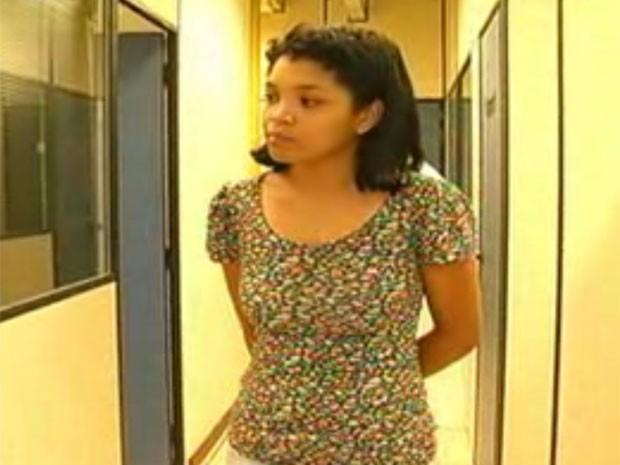 Manicure Susana do Carmo é acusada de matar criança de 6 anos em Barra do Piraí (Foto: Reprodução / TV Rio Sul)