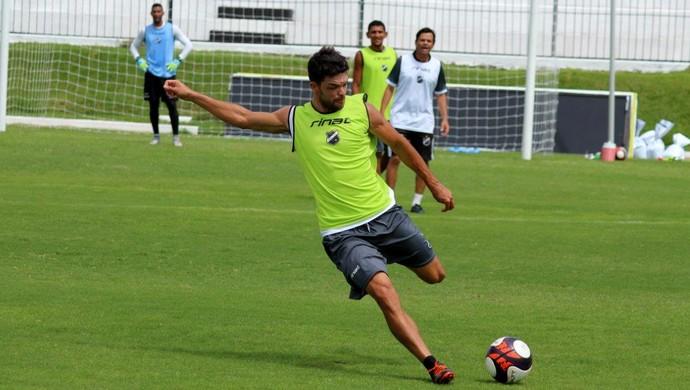 ABC - Márcio Passos, volante - Arez, volante (Foto: Andrei Torres/ABC FC/Divulgação)
