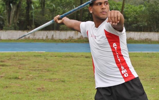 Jonatha Jesus dos Santos atletismo Cubatão (Foto: Divulgação / Prefeitura de Cubatão)