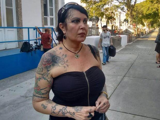 Sandra Mattera (Foto: Nicolas Satriano/G1)