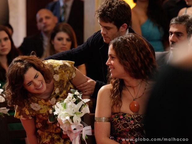 Será que a Isabela vai ter o bebe na igreja? (Foto: Malhação/ TV Globo)