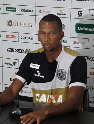 Lucas Bahia, zagueiro do ASA (Foto: Leonardo Freire/GloboEsporte.com)