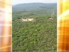 Sobrevoo mostra situação das queimadas em serras de Jundiaí
