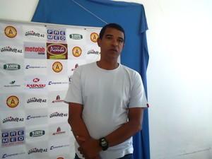 Tim, gerente de futebol do Atlético Sorocaba (Foto: Flavio Veras/Globoesporte.com)