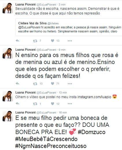 Luana Piovani (Foto: Reprodução/Twitter)