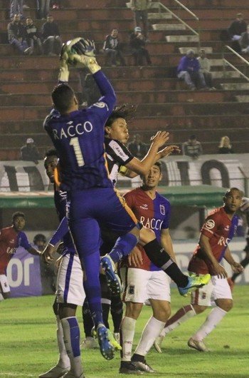 Wendell goleiro Paraná Tupi-MG (Foto: Felipe Couri/tupifc.esp.br)