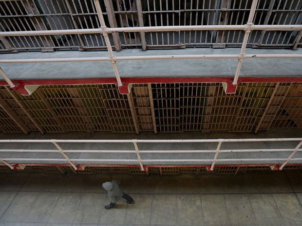 A prisão de Alcatraz, em San Francisco (Foto: Justin Sullivan/Getty Images/AFP)