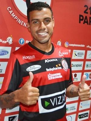 Diego Torres, campinense (Foto: Divulgação / Campinense)