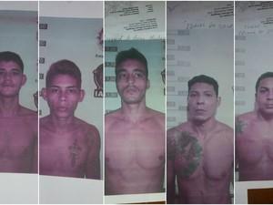 Cinco presos fugiram no sábado (4) e outros cinco no último dia 11, de presídio de Rio Branco (Foto: Divulgação/Iapen)