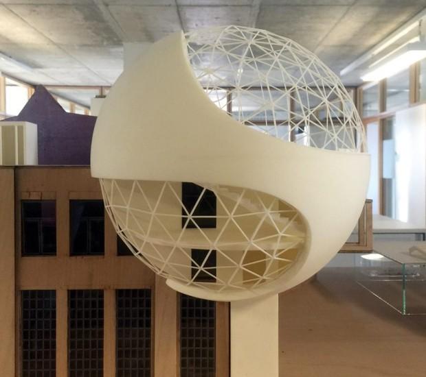 oscar-niemeyer-ultimo-projeto-obra-predio-industrial-kirow-leipzig (Foto: Kirow Leipzig)