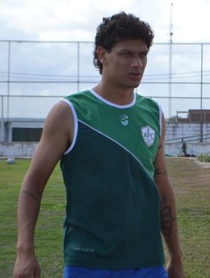 Lucas Patinho, meia do Alecrim (Foto: Jocaff Souza/GloboEsporte.com)