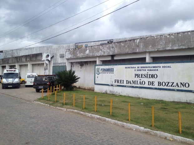 Presídio Frei Damião de Bozzano faz parte do no Complexo Prisional do Curado, na Zona Oeste (Foto: Fernando Rêgo Barros/TV Globo)
