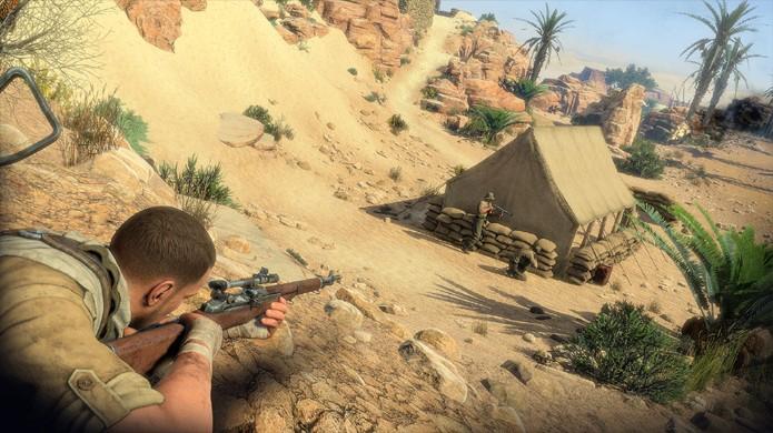 Os sons dos seus tiros podem entregar sua posição, porém não de imediato (Foto: wccftech.com)