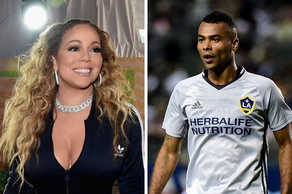 Os parentes distantes Mariah Carey e Ashley Cole (Foto: Getty Images)