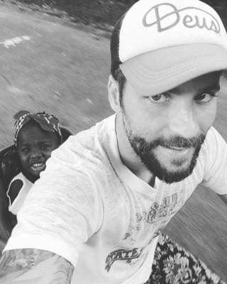 Bruno Gagliasso com a filha, Titi Gagliasso (Foto: Instagram/ Reprodução)