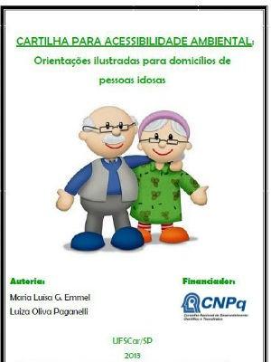 Cartilha da UFSCar dá dicas de como adaptar casa e evitar queda de idosos (Foto: Reprodução)