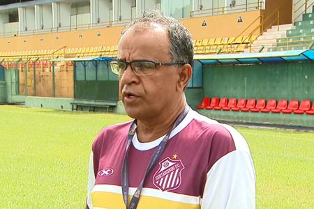 Wantuil Rodrigues, técnico do Sertãozinho (Foto: Ronaldo Gomes / EPTV)