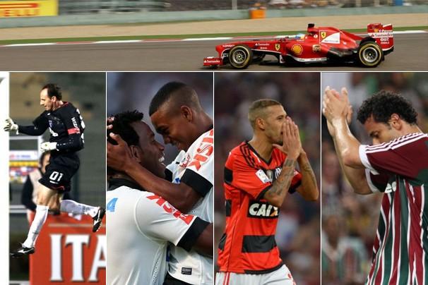 Fim de semana na Globo tem GP da Espanha de F1 e os clássicos São Paulo x Corinthians e Fla x Flu (Foto: globoesporte.com)