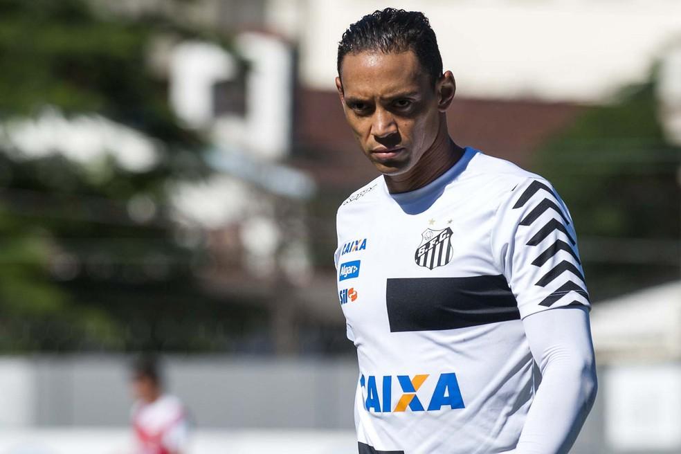 Ricardo Oliveira está perto de renovar o contrato com o Santos (Foto: Ivan Storti/Santos FC)