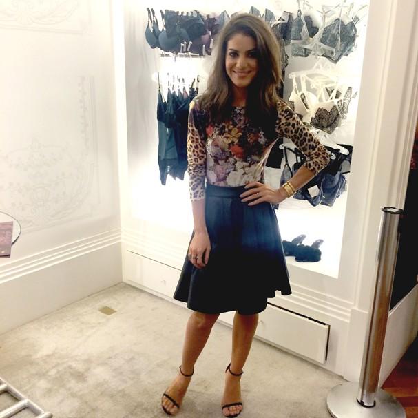Camila Coelho dá dicas de lingerie, beleza e fala de seu novo visual
