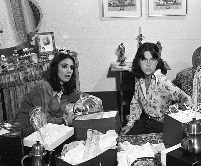 Com Regina Duarte, Ada Chaseliov fez o seriado Malu Mulher (Foto: Cedoc / TV Globo)