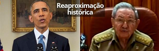 EUA e Cuba decidem retomar relações após 53 anos, mas embargo continua (Doug Mills/Pool/Reuters, Reprodução/Reuters)