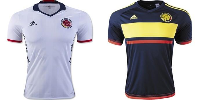 Camisa Colombia Copa América Centenario