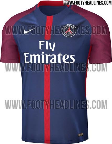 BLOG: Blog vaza próxima camisa do PSG com novidade nas mangas e na listra central
