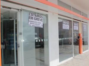 Sindicato estima que greve terá até 70% de adesão (Foto: Camila Henriques/G1 AM)