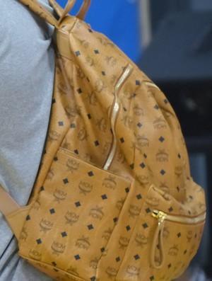 LeBron James treino CT do Golden State Warriors NBA mochila (Foto: Thales Soares)