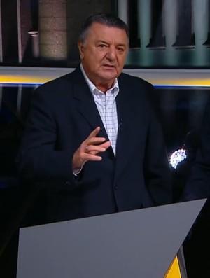 Arnaldo Cezar Coelho Bem, Amigos! (Foto: Reprodução SporTV)
